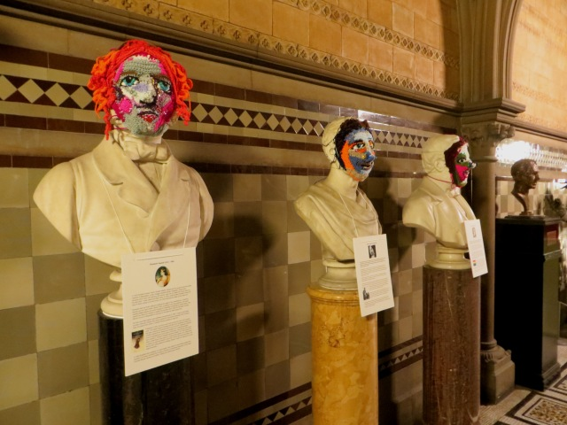 Stature exhibition, Manchester Town Hall